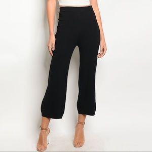 Pants - [LAST PAIR] High Waisted Black Ankle Pants